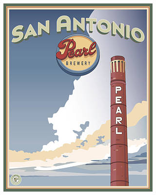 The Pearl Smokestack Poster