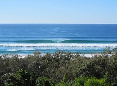 The Perfect Wave Sunrise Beach Queensland Australia Poster