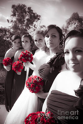 The Perfect Wedding Bouquets Poster by Jorgo Photography - Wall Art Gallery