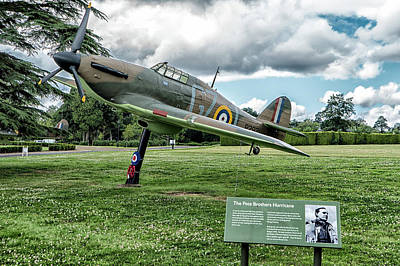 Poster featuring the photograph The Pete Brothers Hurricane by Alan Toepfer