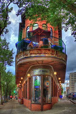 Poster featuring the photograph The Pickle Barrel Chattanooga Tn Art by Reid Callaway