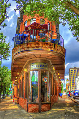 The Pickle Barrel Too Chattanooga Tennessee Art Poster by Reid Callaway