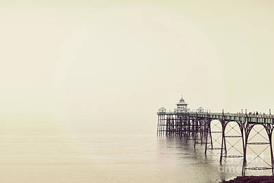 Poster featuring the photograph The Pier by Colin and Linda McKie