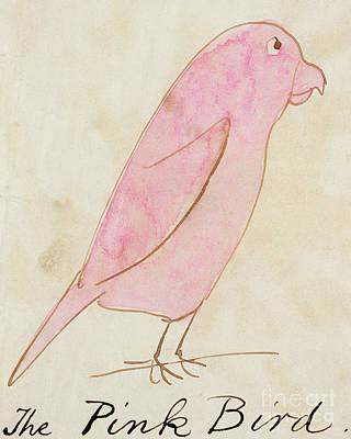 The Pink Bird Poster