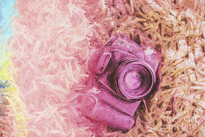 The Pink Camera Poster by Jorgo Photography - Wall Art Gallery