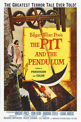The Pit And The Pendulum, 1961 Poster by Everett
