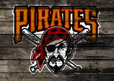 The Pittsburgh Pirates 1a Poster by Brian Reaves
