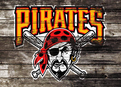 The Pittsburgh Pirates 1c Poster by Brian Reaves