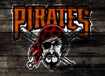 The Pittsburgh Pirates 1d Poster by Brian Reaves