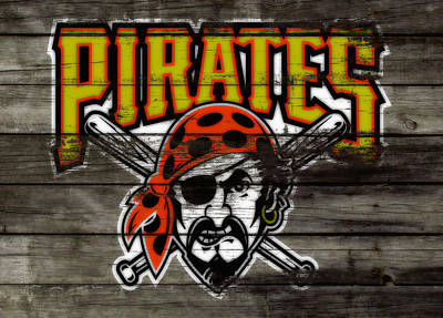 The Pittsburgh Pirates Poster by Brian Reaves