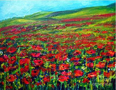 The Poppy Fields Poster