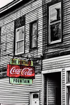 The Porthole Portland Maine Poster