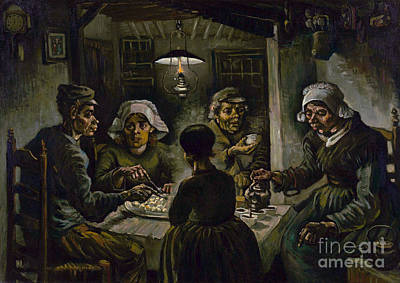 The Potato Eaters Poster by Van Gogh