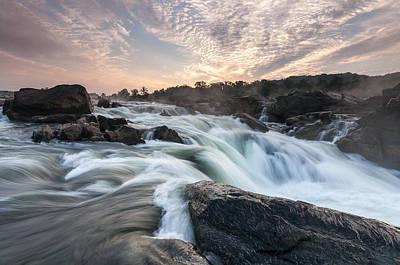 The Potomac River At Great Falls Poster