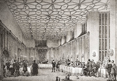 The Presence Chamber, Hampton Court Poster by Vintage Design Pics