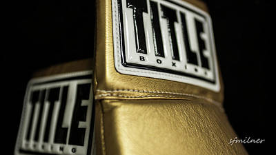 Title Boxing Gloves Poster
