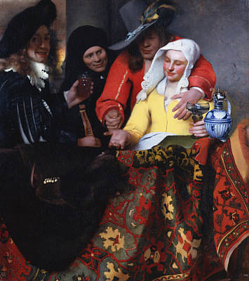 The Procuress 1656 Poster