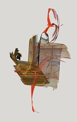 The Proud Rooster Poster by Jackie Mueller-Jones