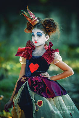 The Queen Of Hearts Alice In Wonderland Poster