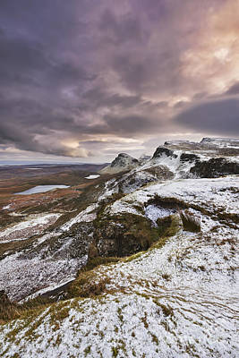 The Quiraing 2 Poster by Rod McLean