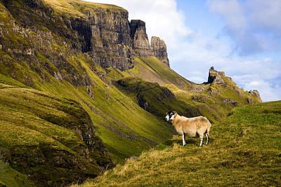 The Quiraing Isle Of Skye Poster by John McKinlay