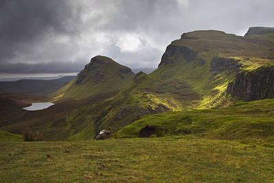 The Quiraing Isle Of Skye Scotland Poster