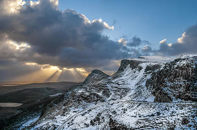 The Quiraing Just After Dawn Poster