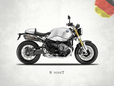 The R Nine T Poster by Mark Rogan