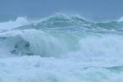 The Raging Ocean Poster by Jeff Swan