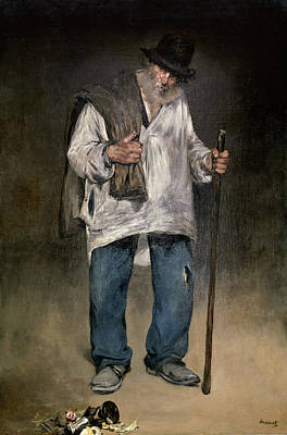 The Ragman Poster by Edouard Manet