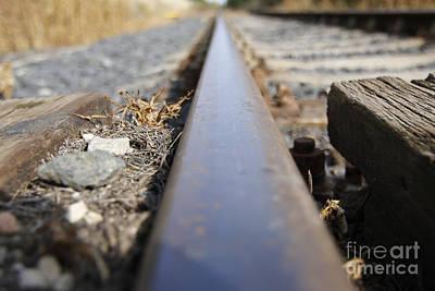 The Rail Poster by Michal Boubin