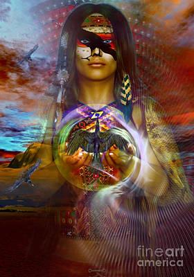 the RAVEN  spirit Poster