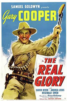 The Real Glory 1939 Poster by Mountain Dreams