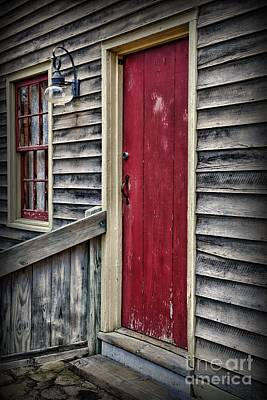 The Red Door Poster by Paul Ward