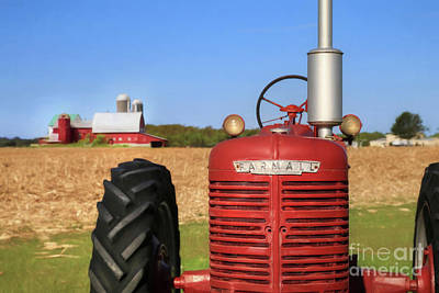 The Red Farmall Poster