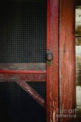 The Red Screen Door Poster by Margie Hurwich