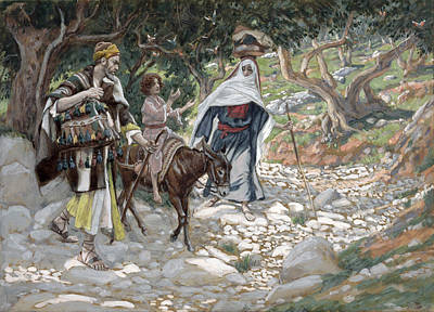 The Return From Egypt Poster by Tissot