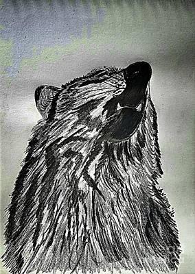 The Revolution Begins - Moonlight Mist Abstract Poster by Scott D Van Osdol
