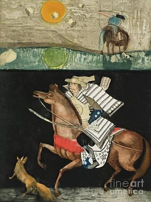 The Rider  After Akutagawa Ryunosuke Poster by Annael Anelia Pavlova