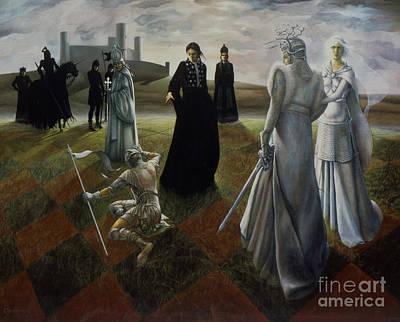 The Ringer Poster by Jane Whiting Chrzanoska