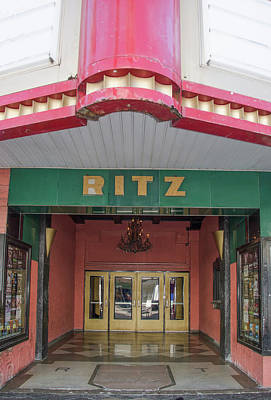 The Ritz - Ybor City Tampa Florida Poster by Bill Cannon