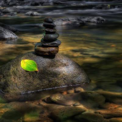 The River Zen Poster