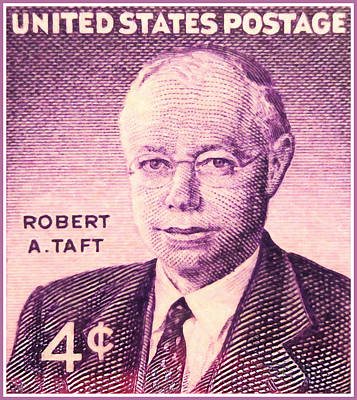 The Robert A. Taft Stamp Poster