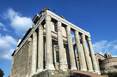 The Roman Forum Poster by John Greim