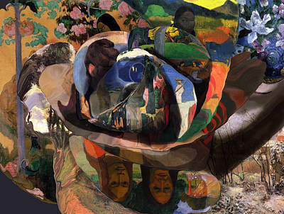 The Rose Of Gauguin Poster
