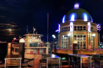 The Rotunda At Rowes Wharf - Boston Harbor Hotel - Boston Poster by Joann Vitali