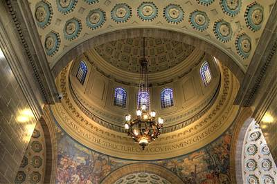 The Rotunda Missouri State Capitol Jefferson City Poster