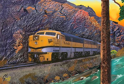 The Royal Gorge Poster by J Griff Griffin