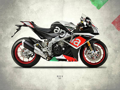 The Rsv4 Rf Poster by Mark Rogan