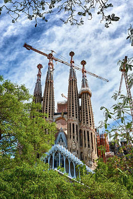 The Sagrada Familia Poster